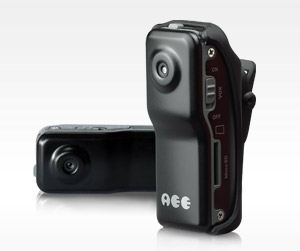 Gold G-DV80 High Resolution Thumb Size Digital Clip Active Camera