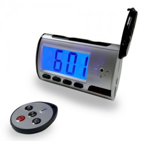COP-USA CL-DVR Covert Alarm Clock Spy DVR With 4GB Memory
