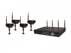 Astrotel DVR-DIG4 2.4Ghz Digital Wireless 4 Channel DVR/Camera Surveillance System