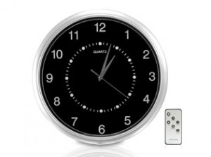 Securityman ClockCamDVR Wall Clock Color Camera