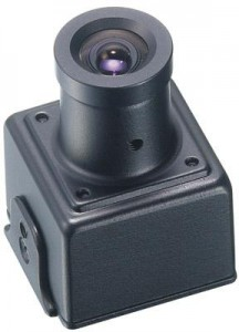 KT&C KPC-E23NUB 700TVL High Resolution Miniature CCTV Camera W/ 3.6mm Lens