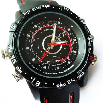 4GB Covert Spy Gadget Wrist Watch W/ USB Output