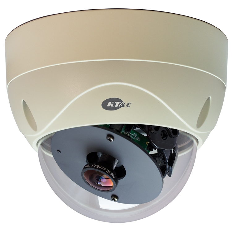 3MP HD-SDI Panorama View Vandal Proof Dome Security Camera