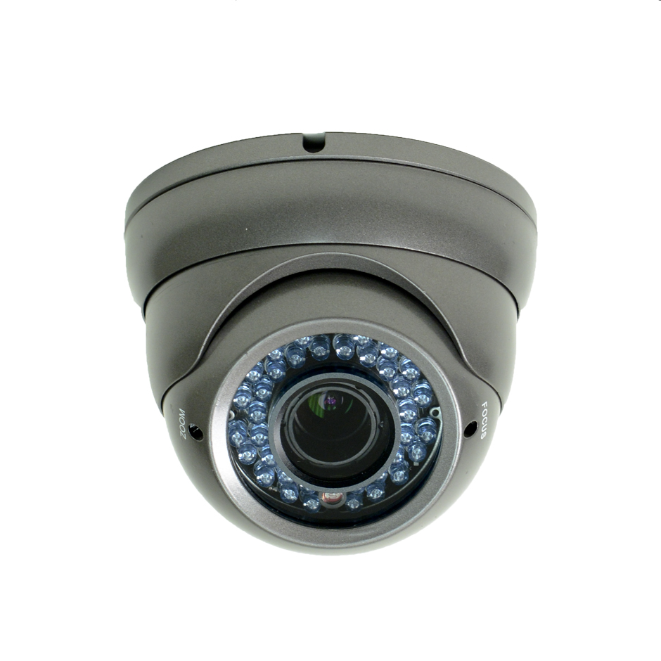 GEN IV D7V Infrared Armored Dome Security Camera W/ 700TVL Resolution and a 2.8mm - 12mm Lens