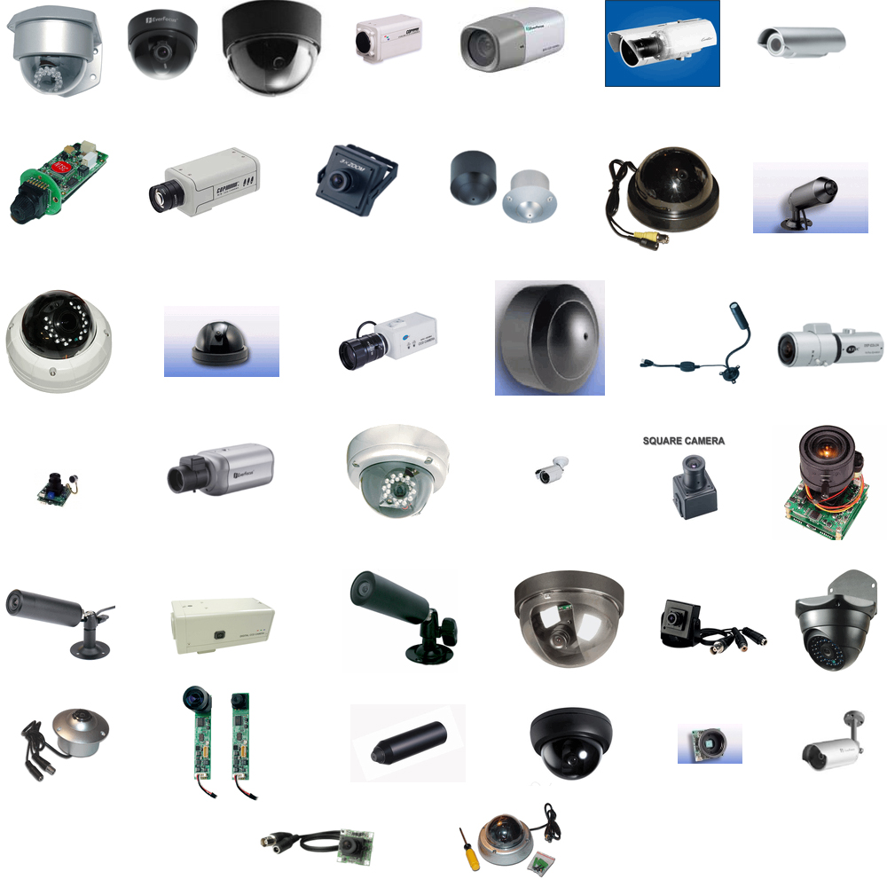 an amazing bundle of over 135 security cameras at an extreme discount
