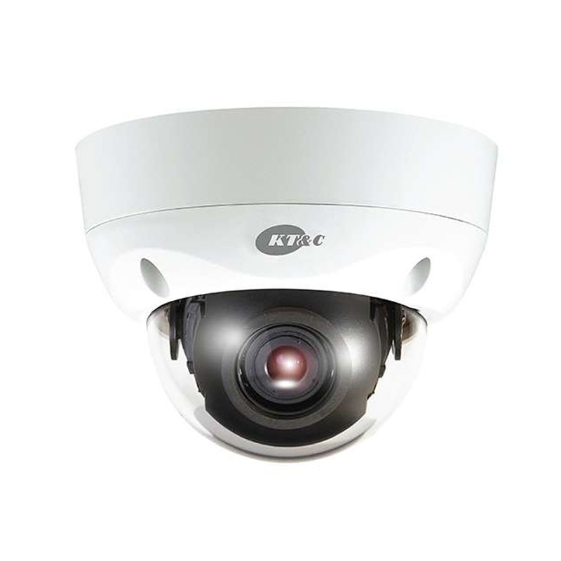 KT&C KPC-VDS302 750TVL Outdoor Vandalproof Dome Security Camera
