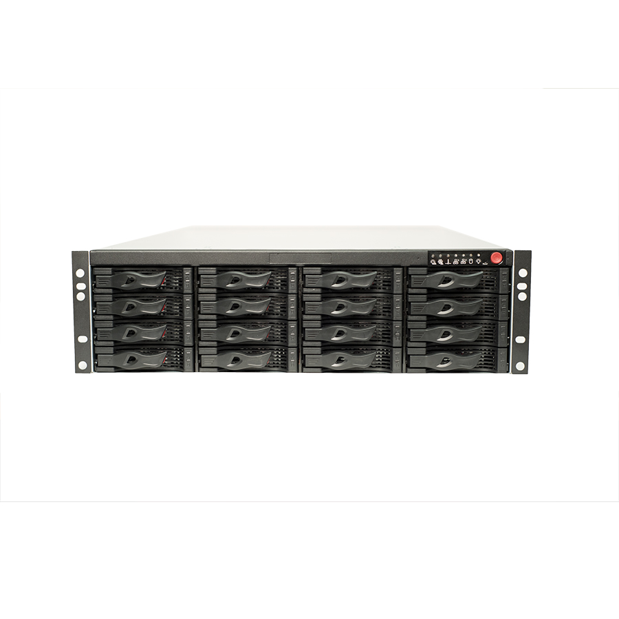 64 Channel 3U 4K Resolution NVR W/ 12MP Support & 16HDD Bays